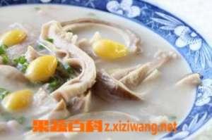 猪肺白果汤的材料和做法步骤